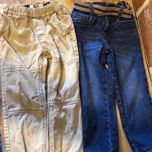 2 pairs boys pants